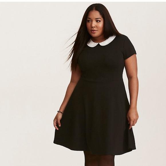 torrid Dresses & Skirts - Torrid Textured Skater Dress NWT Size 1X